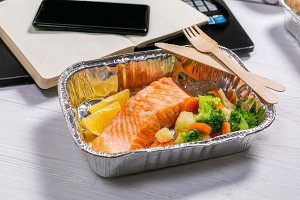 Healthy food delivery to workspace -