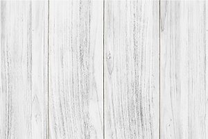 White wooden flooring backgr