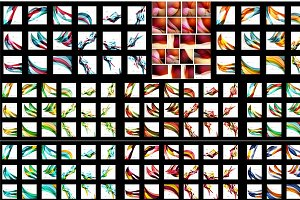 Abstract corporate backgrounds set