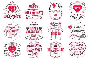 Happy Valentines Day Overlays