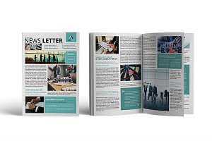 Business Newsletter Template V02