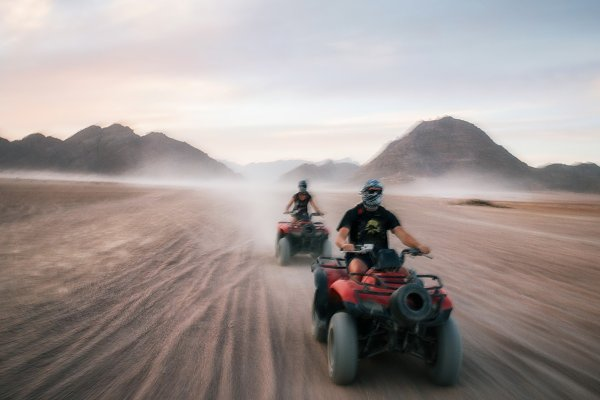 Buggy and ATV quads races in Sinai