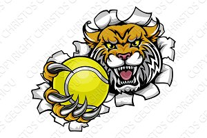 Wildcat Holding Tennis Ball Breaking