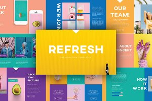 REFRESH - Creative Keynote