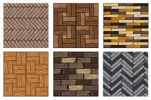 set wood floor tiles pattern texture