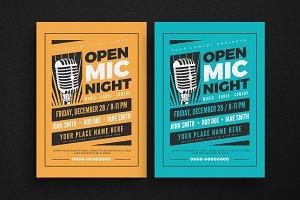 Open Mic Night Flyer