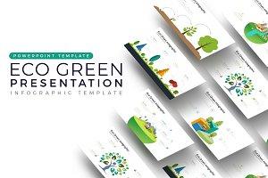 Eco Vector Presentation Infographic