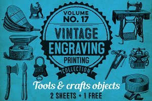 TOOLS & CRAFTS OBJECTS + 1 BONUS
