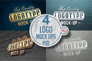 Logo Mock-up Pack Vol.1