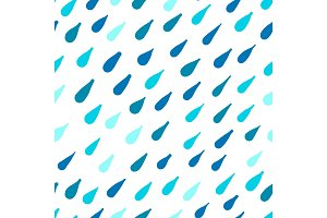 Rain, seamless pattern for your