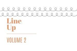 Line Up Vol. 2 | 20 Decorative Lines