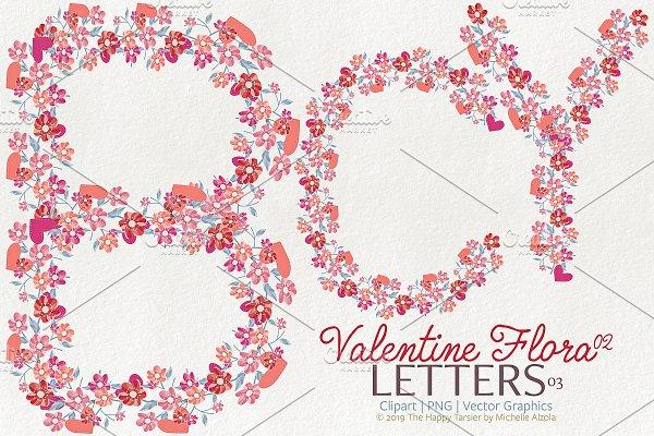Valentine Flora 02 - Letters 03