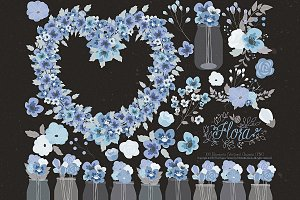Flower Clipart and Vector – Flora 24