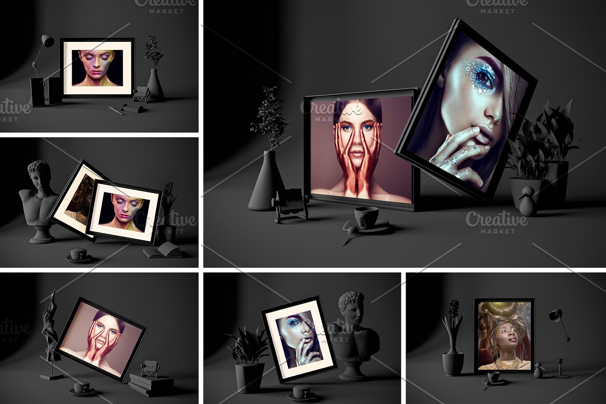 Dark Frames in Studio