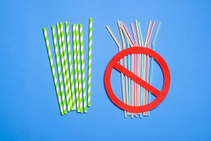 Say No to Plastic Straws, Plastic Po