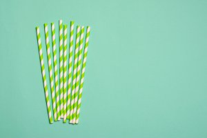 Eco Friendly Paper Straws, Copy Spac