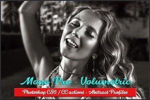 Mono Pro - Volumetric actions