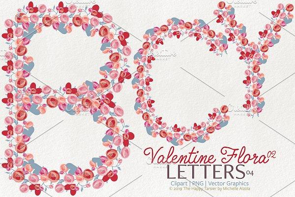 Valentine Flora 02 - Letters 04