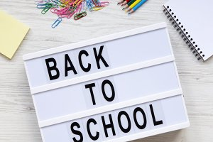 Education concept. 'Back to school'