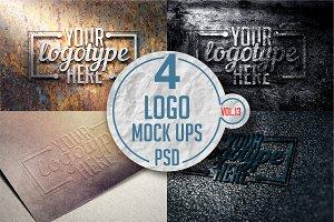 Logo Mock-up Pack Vol.13