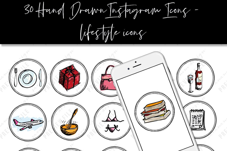 Instagram Story Highlight Icons 008