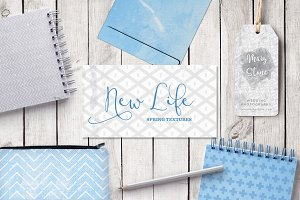 New Life - Spring Textures