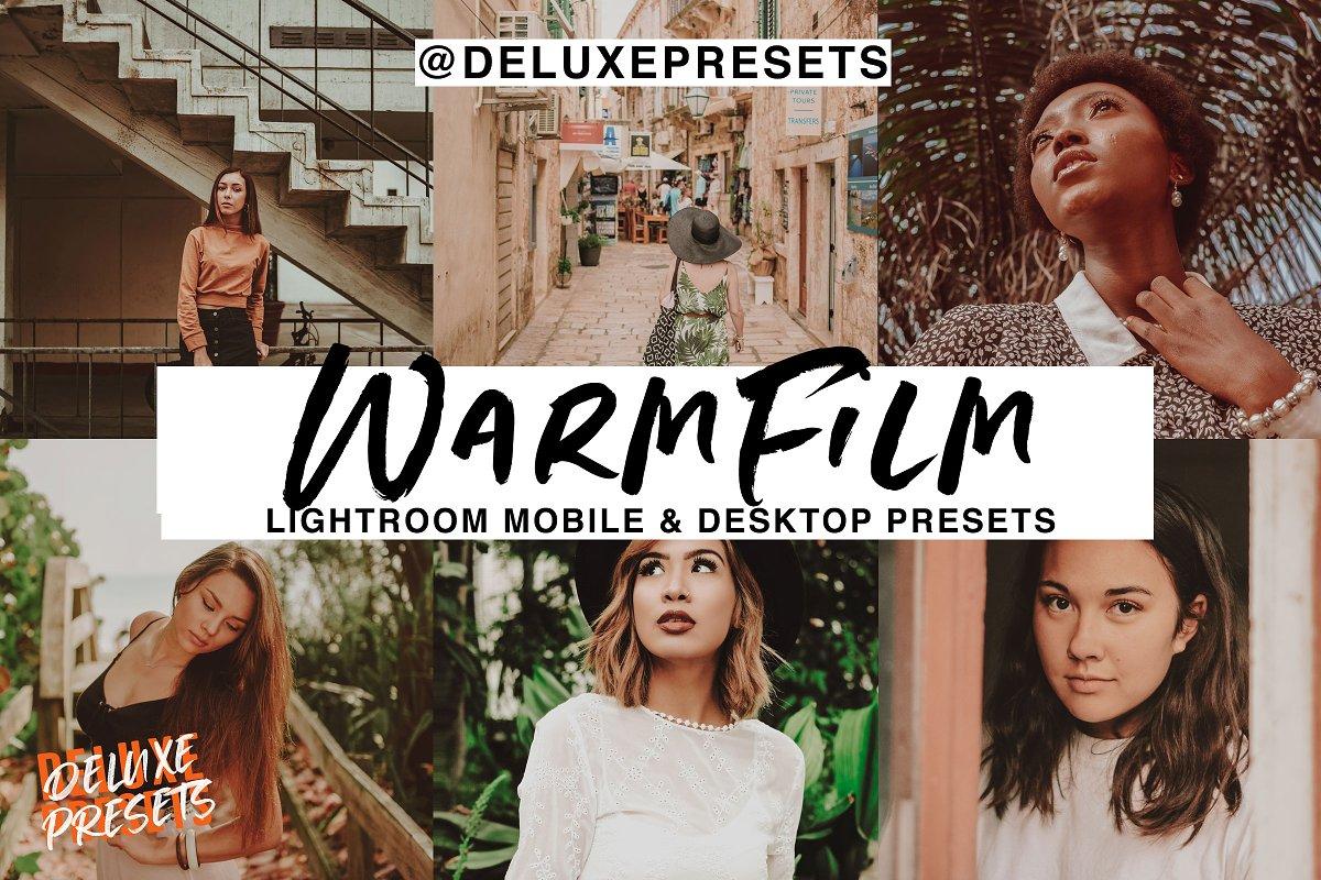 Warm Film Mobile & Desktop Lightroom
