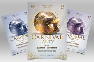 Carnival Party 2019 PSD Flyer