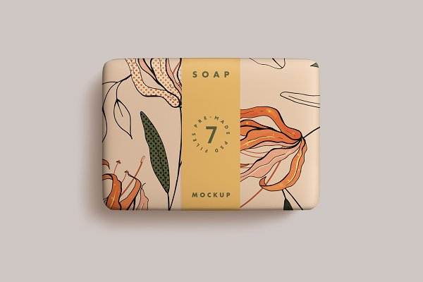Product Mockups: seawasp - Soap Bar Mockup