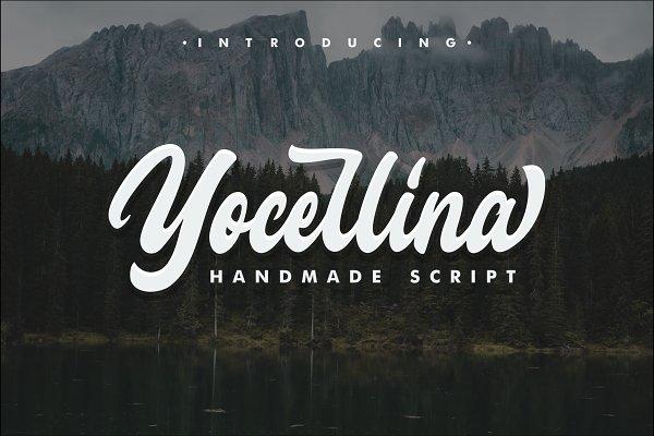 Script Fonts - Yocellina