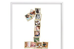 Photo Collage Template number 1-ID01