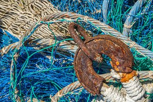 Chain on a fishing net (17)