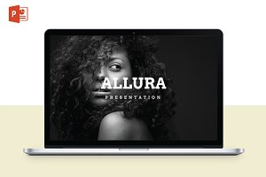 Allura Powerpoint Template