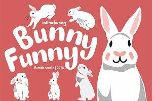 Bunny Funny   Playfull Font