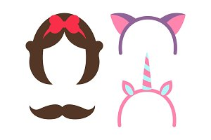 Princess Party Icon Collection