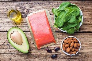 Concept Healthy food antioxidant