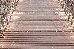 Walkway on the bridge