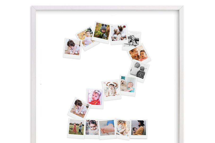 Photo Collage Template Number two
