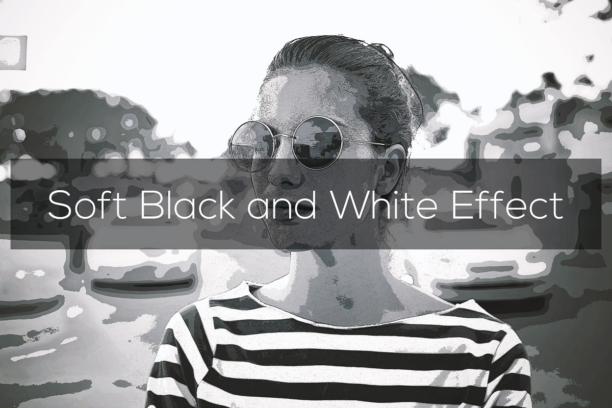 Soft Black and White Effect
