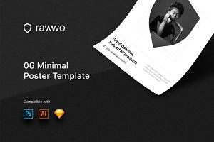 Rawwo Minimal Poster Template