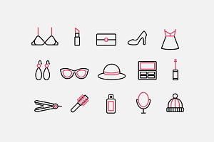 Womens Accessories Icons