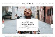 Responsive Blogger Template Belmondo