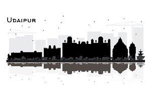 Udaipur India City Skyline