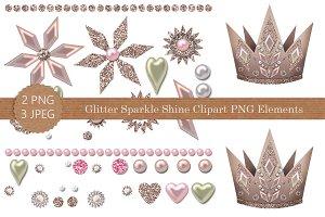Glitter Shine Sparkle Clipart PNG