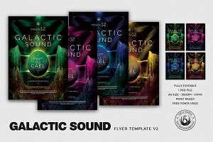 Galactic Sound Flyer Template V2