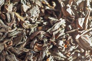 loose tea leaves background