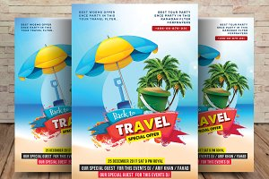 Thailand Tour and Travel Flyer