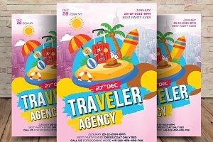 Thailand Traveler Agency Flyer