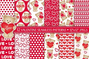 Valentine's Day Digital Paper