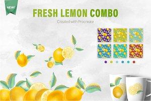 Lemon combo set